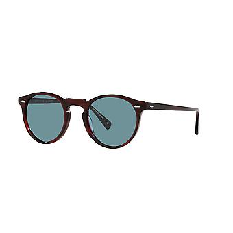 Oliver Peoples Gregory Peck SUN OV5217S 167556 Bordeaux Bark/Cobalto Sunglasses