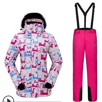 Outdoor Sports Ski Women's Suit Snow Clothing Warm