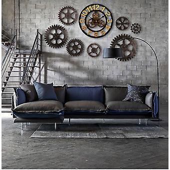Wall Clock GearDecorative Retro MDL Wall Clock Industrial Age Style Room Decoration Wall Art Decor