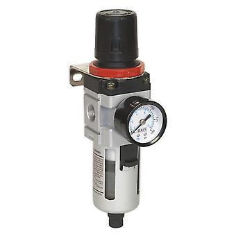 Filtro/regulador de ar Sealey Sa2001/Fr com calibre pesado