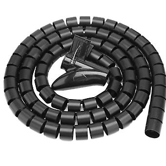 Line Organizer Pipe Protection Spiral Wrap Winding Cable Wire Protector Cover