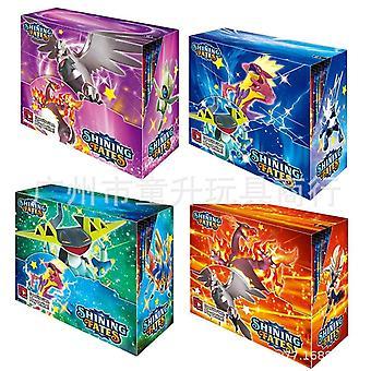 324 Peça de 6+ idade crianças pokemon cartões, versão em inglês