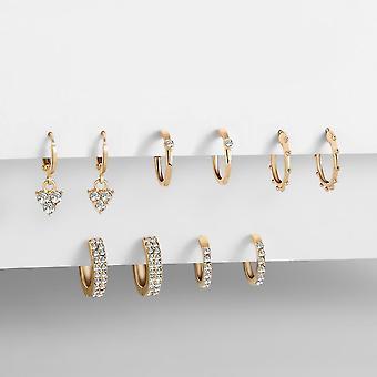 6pcs Fashion Small Ear Cuff Set Earring