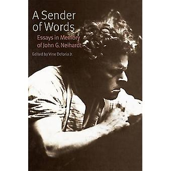 A Sender of Words by Edited by Vine Deloria Jr