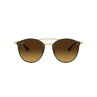 Ray-Ban Rb 3546 Sunglasses, Brown (Brown/gold), 49 mm Unisex-Adult(1)