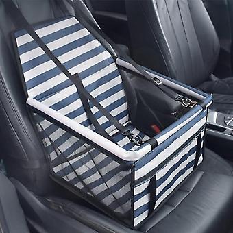 Fashion striped dog car seat