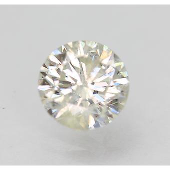 Sertifioitu 0,92 karat H SI2 pyöreä brilliant parannettu luonnollinen löysä timantti 6,19mm