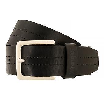 WRANGLER correa cuero cinturones hombre cinturones negro 4069