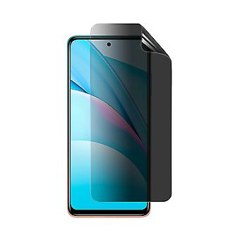 Celicious Privacy Plus 4-Way Anti-Spy Filter Screen Protector Film Compatible with Xiaomi Mi 10T Lite 5G