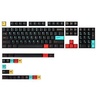 Mechzone 126 klawiszy metropolis keycap zestaw cherry profil sublimacji klawiszy pbt do klawiszy 60/87/104/108 klawiatury mechaniczne