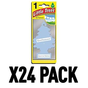 Summer Cotton (Pack Of 24) Little Trees Air Freshener