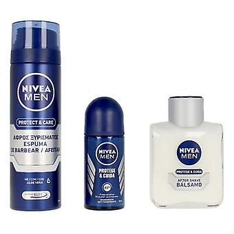 Unisex Cosmetic Set Men Protege & Cuida Nivea (4 pcs)