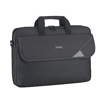 Targus Intellect Topload Travel and Commuter Messenger Bag avec bandoulière pour ordinateur portable de 15,6 pouces, noir / gris (TBT239EU)