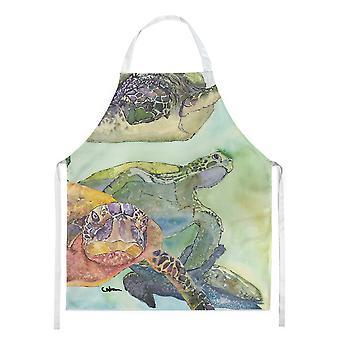 «Les trésors de Caroline 8549Apron Turtle Apron, Grand, Multicolore»