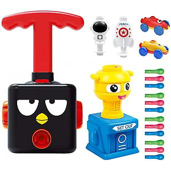 Balloon Powered Car, Balloon Launcher Toy Set, Scientific Experiment, Intellectual Education, Preschool Children's Toy (no Battery Required)