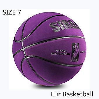 Nieuwe zachte microvezel basketbal maat 7 slijtvaste antislip, anti-wrijving outdoor en indoor professionele basketbal bal