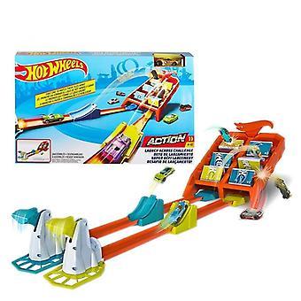 تحدي المسارات التنافسية الاطفال سيارة اللعبة.