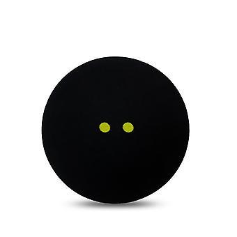الاسكواش الكرة اثنين من النقاط الصفراء منخفضة السرعة كرات المطاط الرياضية الرسمية.