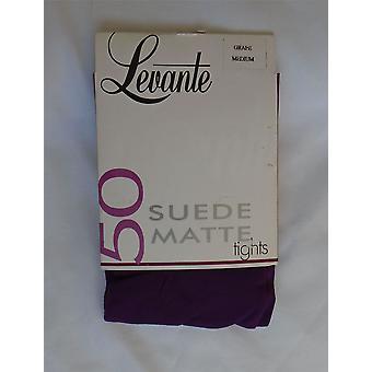 Levante Suede Matte 50 Denier Luxury Tights