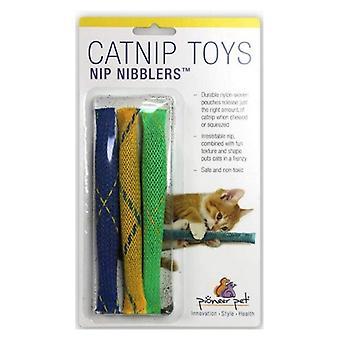 Pioneer Pet Nip Nibblers Catnip Toy - 3 count