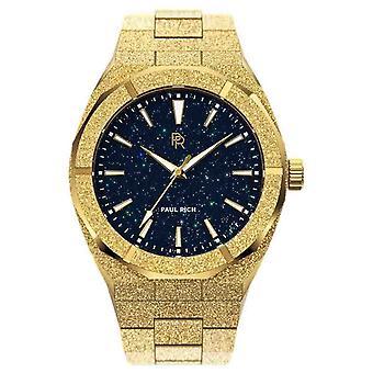 Пол Рич Матовая звездная пыль Золото FSD02-42 часы 42mm
