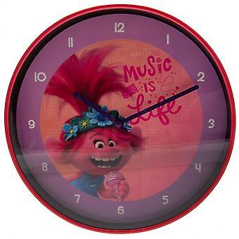 Wall clocks world tour poppy wall clock