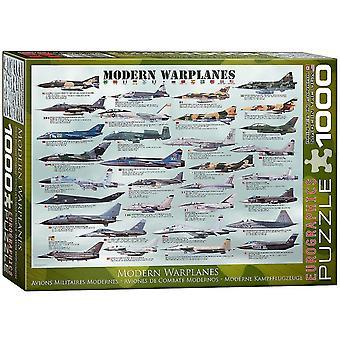 Jigsaw puzzles modern warplanes 1000 piece puzzle
