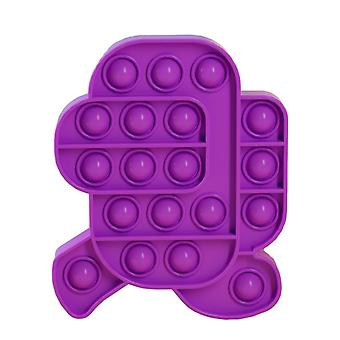3+ Unter Bubble Pop ist es sensorisches Zappeln Spielzeug für Stressabbau und Anti-Angst (J)