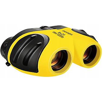 Binoculars 8x21 Telescope Folding Telescope For Children, Yellow