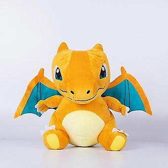 20cm Q Version Super Fire Breathing Dragon Million Fire Breathing Dragon  Doll Big Head  Animals