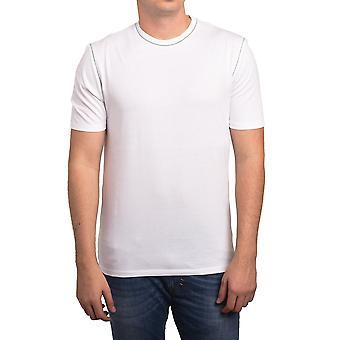 Z Zegna por t-shirt em branco homens Ermenegildo Zegna branco cinza