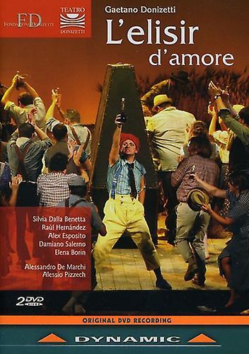 G. Donizetti - L'Elisir D'Amore [DVD] USA import