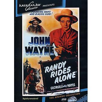 Randy cabalga solo (1934) de la importación de los E.e.u.u. [DVD]