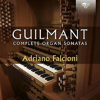 Adriano Falcioni - Guilmant: Complete Organ Sonatas [CD] USA import