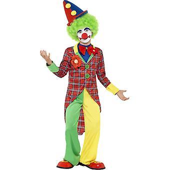 Clownkostüm Kinder Clown Anzug Kostüm Kinderkostüm 10-12 Jahre