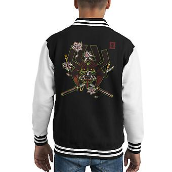 Kabuto Samurai Jack Kid's Varsity Jacket
