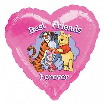 Anagram Winnie The Pooh Best Friends Forever Foil Balloon