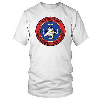 US Navy Fighter våpen skolen Top Gun Kids T skjorte