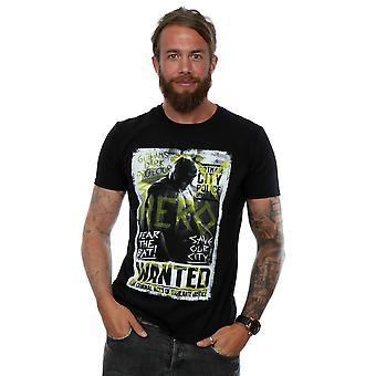DC Comics Männer Batman V Superman Wanted Poster T-Shirt