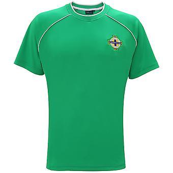 Official Football Merchandise Northern Ireland Adults Short Sleeve T-Shirt