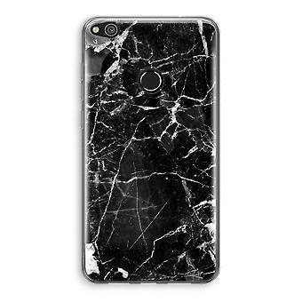 Huawei Ascend P8 Lite (2017) Transparant fall (Soft) - marmor svart 2
