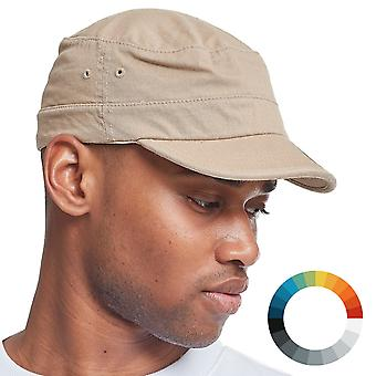 Cap ARMY MILITARY fitted garment washed Cap