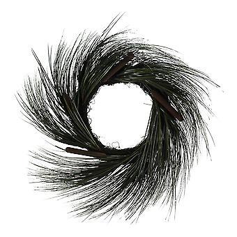Gazon artificiel de la belle 30 pouces de diamètre et de quenouilles porte Couronne