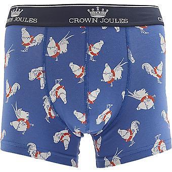 Joules Mens Crown Joules Cotton Printed Underwear Boxer Shorts