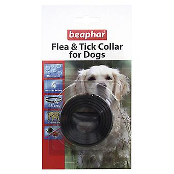 Beaphar Flea & Tick Collar For Dogs Plastic Collar Black - Valentina Valentti UK
