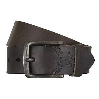LLOYD Men's Belts Gürtel Herrengürtel Ledergürtel Vollrindleder Schlamm 4319