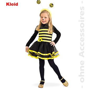 Biene Kinder Bienenkleid Kostüm Hummel Kinderkostüm