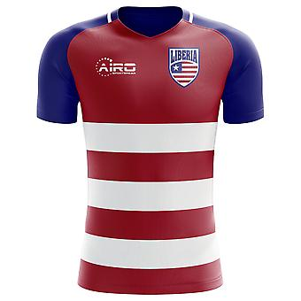 2020-2021 Liberia Home Concept Football Shirt - Kids
