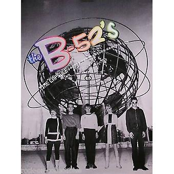 The B-52s Time Capsule Poster