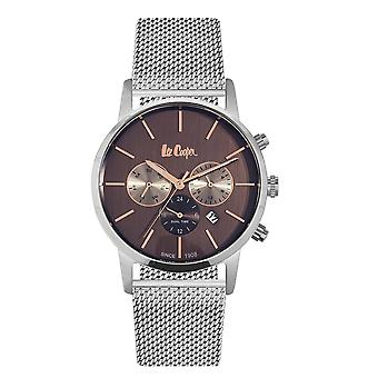 Lee Cooper Men's Watch Silver Milanese Maille Bracelet 7917